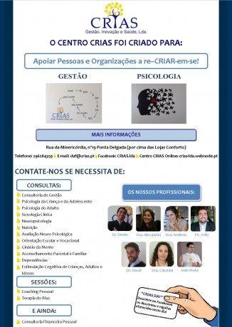 Foto 2 de Crias - Gestão, Inovação e Saúde, Lda.