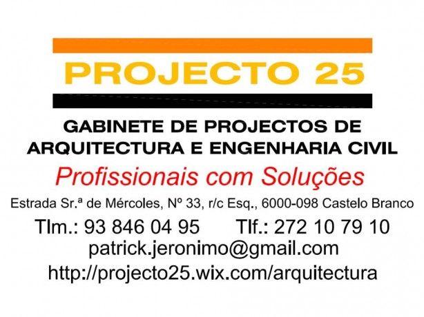 Foto 2 de PROJECTO 25, Arquitectura, Engenharia e Topografia