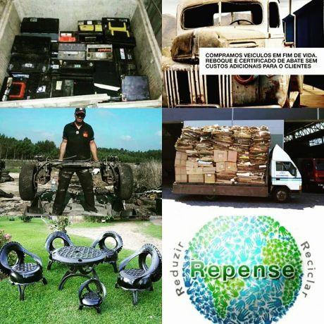 Foto 1 de Sucatas & Sucatas - Reciclagem & Gestão de Resíduos