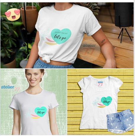 Foto 1 de atelier77 - t-shirts & design