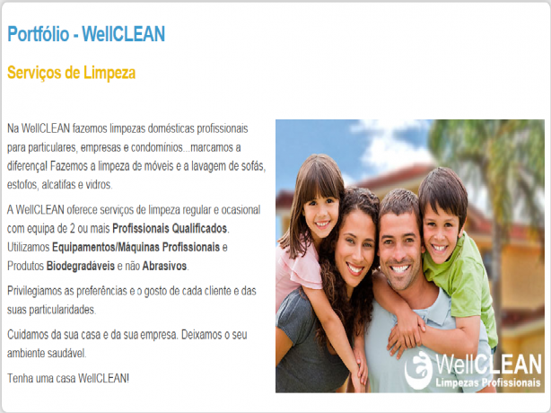 Foto 1 de Wellclean, Limpezas Profissionais - Logpiramide, Lda