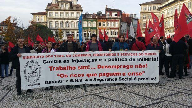 Foto 2 de Sindicato dos Trabalhadores do Comércio, Escritórios e Serviços do Minho - CESMINHO