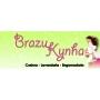 Logo Brazukynha - Costura Em Geral e Engomadoria