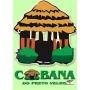 Logo Cabana do Preto Velho, JS Coelho - Artigos Esótericos