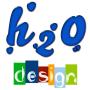 Logo H2O Design - Desenvolvimento Web.