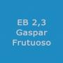 Logo Escola E B 2, 3 Gaspar Frutuoso