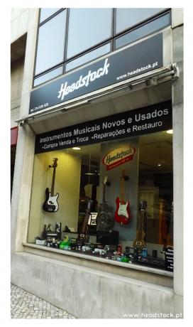 Foto 1 de Headstock - Loja de Instrumentos Musicais Novos & Usados