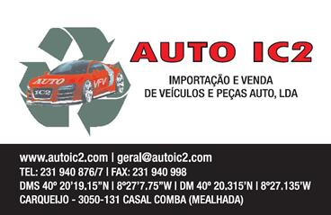 Foto 2 de Auto IC2 - Importação e Venda de Veículos e Peças Auto, Lda