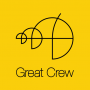 Logo Great Crew - Design Digital e Marketing de Comunicação