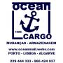 Logo Ocean Cargo - Mudanças
