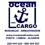 Logo Ocean Mail Logistics, Faro
