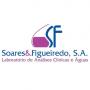 Logo Soares & Figueiredo -Laboratório de Análises Clínicas e Águas
