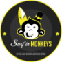Logo Surf In Monkeys - Atividades Desportivas