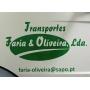 Logo Transportes Faria & Oliveira, Lda